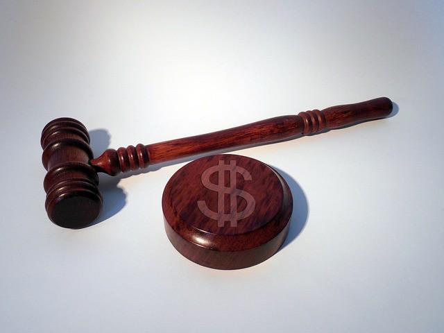 פטיש שופט בית משפט
